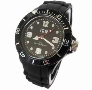 Silicone Quartz Ice Watch ODM Lady Sport Wrist Watch Resin Case