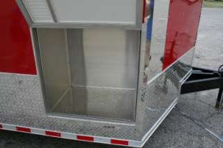 Enclosed Cargo Auto Hauler Race Car Trailer 5200 Generator Box 102x28