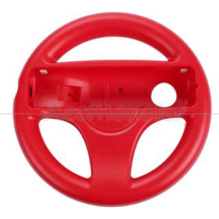 New Red Mario Kart Steering Wheel Controller For Wi