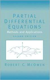 Partial Differential Equations Methods and Applications, (0130093351