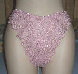 pairs Victorias Secret Miracle Lace Thongs Med sz 6