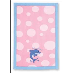 Stephen Joseph Dolphin Baby Burp Cloth Baby