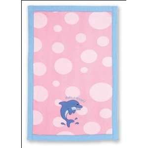 Stephen Joseph Dolphin Baby Burp Cloth Baby