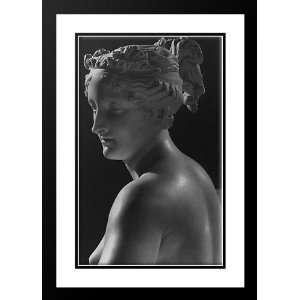 Canova, Antonio 18x24 Framed and Double Matted Venere