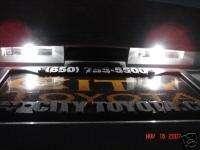 White LED License Plate Lights Infiniti G35 350GT 03 08