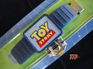 Toy Story Woody Buzz Lightyear Tin Metal Lunch Box Disney Pixar MINT