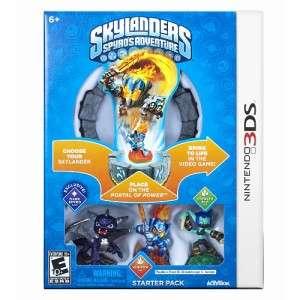 Spyros Adventure Nintendo 3DS Game Starter Pack 047875841543