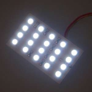 White Car Auto 20 LED SMD 5050 Dome Door Box Panel Light