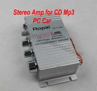 450W Hi Fi  MP4 Speaker Amplifier PC CAR Stereo AMP