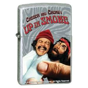 Zippo Cheech and Chong Up in Smoke Street Chrome Lighter