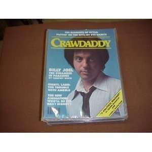 Magazine (Billy Joel , Cheryl Ladd , Eve Babitz) Crawdaddy Books