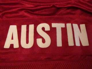 Custom Austin San Francisco 49ers #63 NFL Football Jersey Sz M