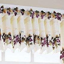 Vineyard Grape WINE Window Treatment Curtains VALANCE