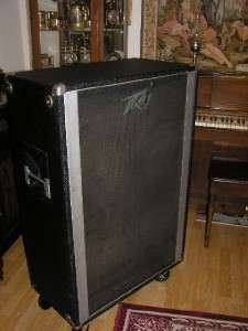 Peavey 412F Guitar Speaker Cabinet 4x12 4 ohms GREAT!