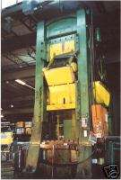 800 Ton Cleveland Knuckle Joint Press Coining Forging