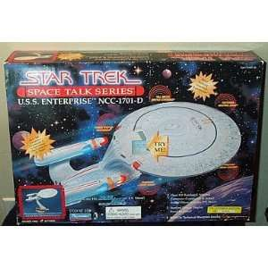 Trek Starship USS Enterprise NCC 1701D Space Talk Series Toys & Games
