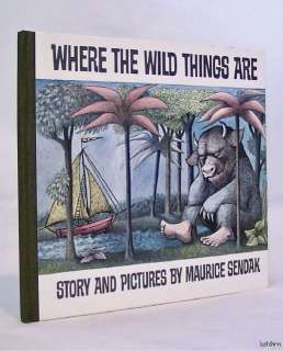 Where the Wild Things Are ~ Maurice Sendak ~ Early Printing ~ 2nd