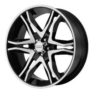 American Racing Mainline 20x8.5 Machined Black Wheel / Rim