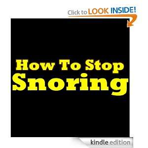 How To Stop Snoring Priceless Tips That Will Surely Help You Get Rid
