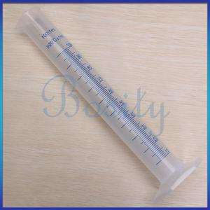Plastic Graduated Cylinder Measuring Cup 1 milliliters Lab New
