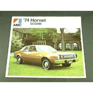 1974 74 AMC HORNET Sedan BROCHURE Everything Else
