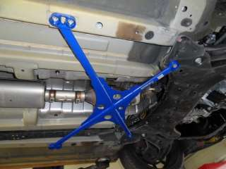2011   2013 Luxon Strut Bar + Under X Brace for Hyundai VELOSTER