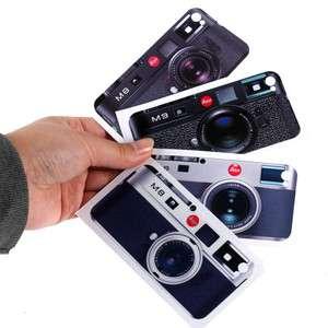 M9 Camera Black White iphone 4 4s 64G 16G Skin Sticker Case Cover Card