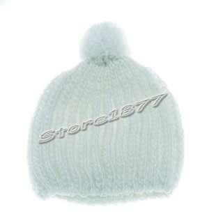 New Winter Ski Hat Knit Beanie Skull Color Hat Cap h186