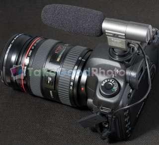 SG 108 Shortgun Mic Video Canon 5D Mark II 7D 60D T3i Hot shoes Nikon