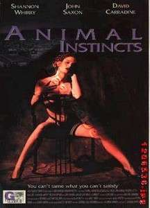 Animal Instincts NEW PAL Cult DVD Shannon Whirry