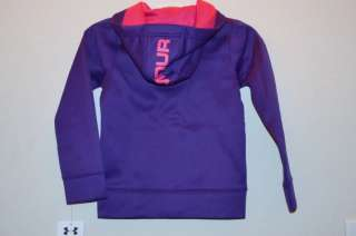 Girls ★UNDER ARMOUR★ Hoodie Jacket @FULL ZIP@ New 2T $40