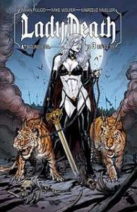 LADY DEATH #3 1ST PRINT 3/9/11 BOUNDLESS NM