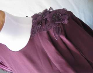 NWOT PLUM FORMAL BRIDESMAID PROM PARTY DRESS GOWN SZ 4