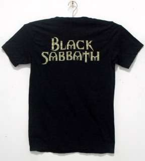 Black Sabbath Ozzy Osbourne T  shirt metal tour NWT 35 M