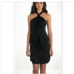 DVF Diane Von Furstenberg NWT Black Alyssa Size 2