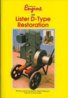 Lister D Type Restoration MANUAL stationary engines