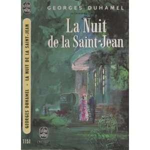 Pasquier   Tome 4   La nuit de la Saint Jean: Georges Duhamel: Books