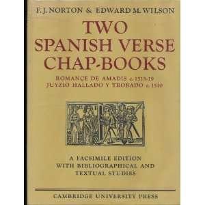 Two Spanish Verse Chap Books Romance de Amadis c. 1515 19