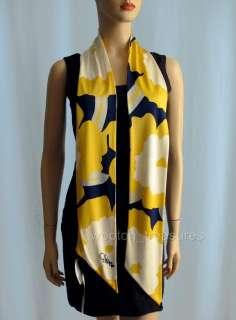 Diane von Furstenberg Scarf Printed Silk Jersey DVF