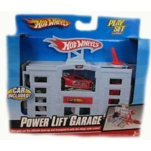 Hot Wheels Power Lift Garage Play Set