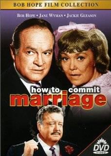 14. How o Commi Marriage DVD ~ Bob Hope