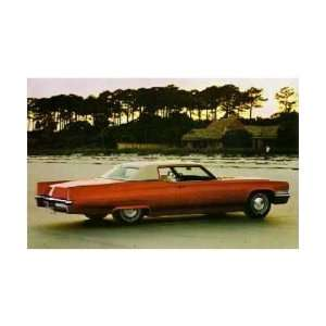 1970 CADILLAC COUPE DEVILLE Post Card Sales Piece Automotive