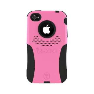 TRIDENT Aegis PINK Hybrid Skin + Hard CASE for Apple iPHONE 4 4G Cover