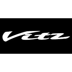 Toyota Vitz Windshield Vinyl Banner Decal 32 x 5