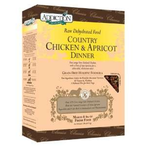 Addiction Raw Dehydrated Grain Free Dog Food, Country Chicken