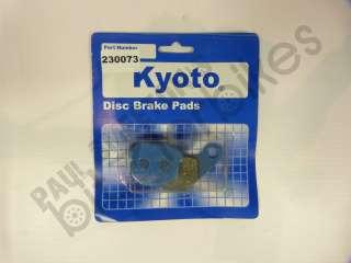 Adly 150 Crusader Quad (06)  Kyoto Organic Front/Rear Brake Pad Set