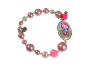 TARINA TARANTINO HELLO KITTY Pink Head Rose Bracelet