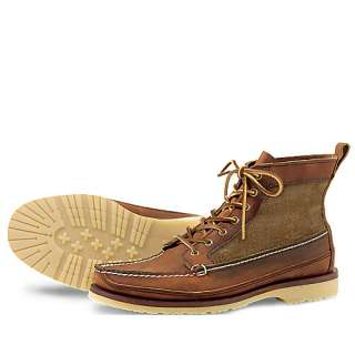 Mens RED WING HERITAGE Wabasha Boots Brown 9185