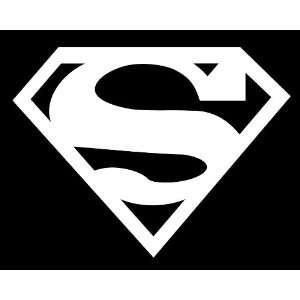 Superman auto car decal graphic vinyl sticker 9.25X7