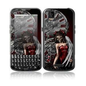 Gothic Angel Design Decorative Skin Cover Decal Sticker for Motorola